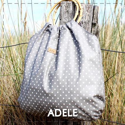 Julia Design Handarbeit handmade Tasche bag Stoff Tragetasche Adele