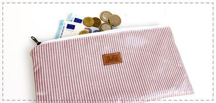 Kosmetiktasche Täschchen Wiebke Federtasche Mäppchen Geldbörse Portemonnaie