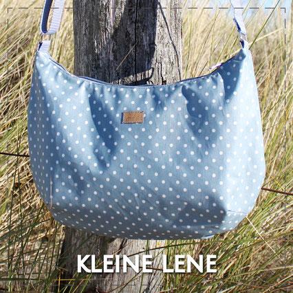 Julia Design Handarbeit handmade Tasche bag Stoff Umhängetasche kleineLene