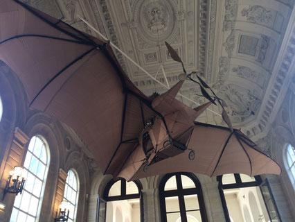 Avion Escalier musée arts métiers