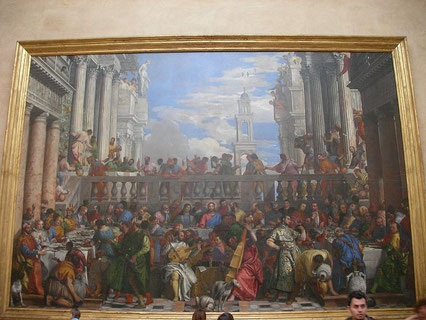 Noces de Cana Louvre Paris