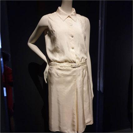 Chanel corsage jupe ceinture