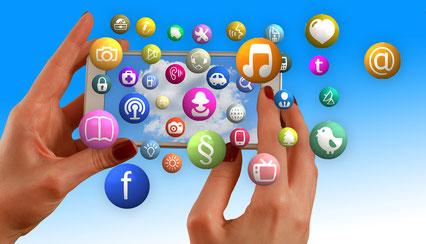 Contrôle à distance tablette téléphone internet