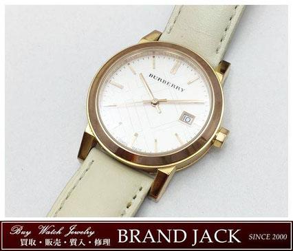 仙台|バーバリー レディース腕時計 クォーツ BU9108を高額買取