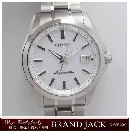 仙台|ザ・シチズン AQ4030-51A 腕時計 高精度エコドライブ 和紙文字盤を高額買取