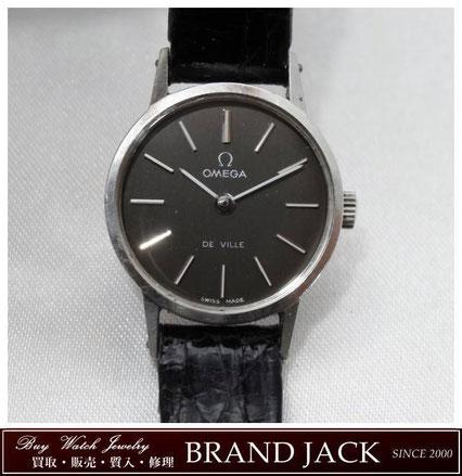 仙台|オメガ デビル アンティーク 腕時計 手巻きを高額買取
