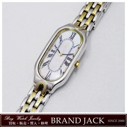 仙台|イヴサンローラン レディース 腕時計 シェルを高額買取