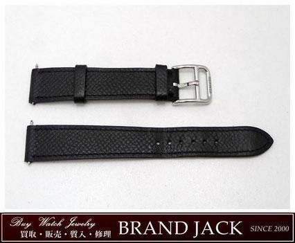 仙台でエルメス 腕時計 純正革ベルト レザー 尾錠付を高額買取