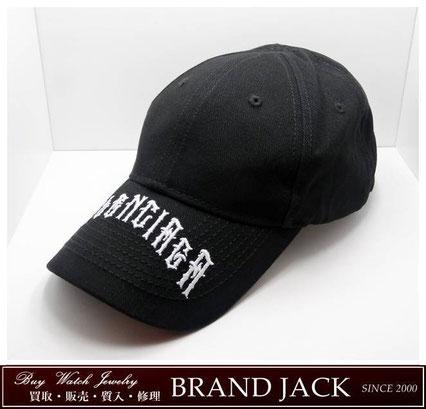仙台|バレンシアガ タトゥーキャップ 帽子 570102 310b5 1077を高額買取