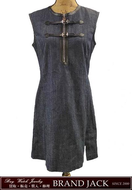 ルイヴィトン ノースリーブ デニム ワンピース 洋服を仙台で高額買取