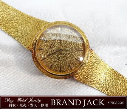 仙台|パテックフィリップ 腕時計 裏リューズ 金無垢 アンティークを高額買取