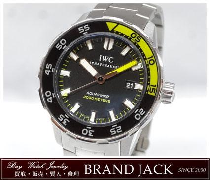 仙台|IWC アクアタイマー 2000 IW3565808を高額買取