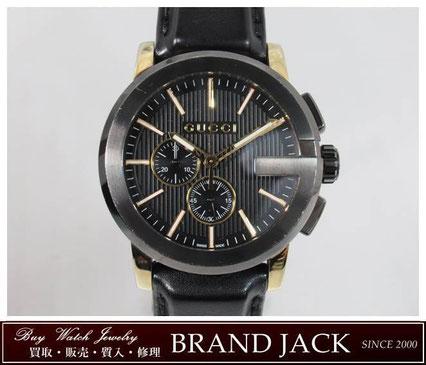 グッチ Gクロノ 腕時計 クォーツ YA101203 101.2を仙台で高額買取