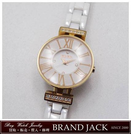 仙台|フォリフォリ ミニダイナスティ 腕時計 ラインストーンを高額買取
