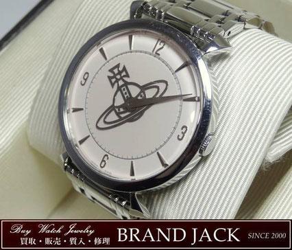 仙台|ヴィヴィアンウエストウッド レディース 腕時計 VW-7043Nを高額買取