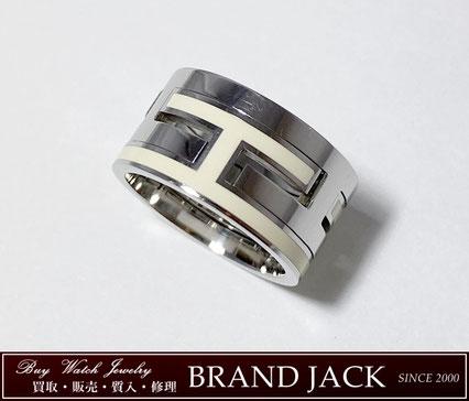 エルメス ムーブアッシュ リング 指輪 SV925を仙台で高額買取
