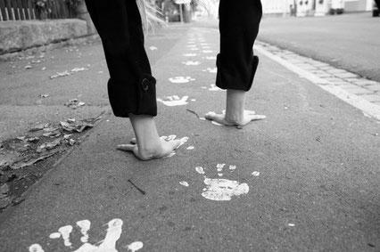 Auf den Händen laufen