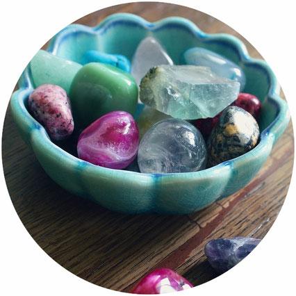 pierres, coueur, reiki, bien-être, énergie, massage, séance, déroulement