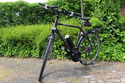 Trek X-800 full carbon met Pendix eDrive300 Middenmotor van FONebike Fiets Ombouwcentrum Nederland
