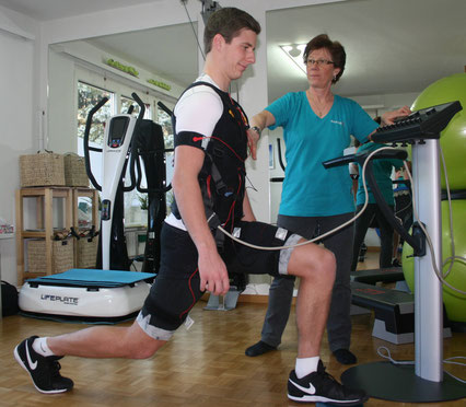 EMS Training bei PHYSIOCO in Vaduz