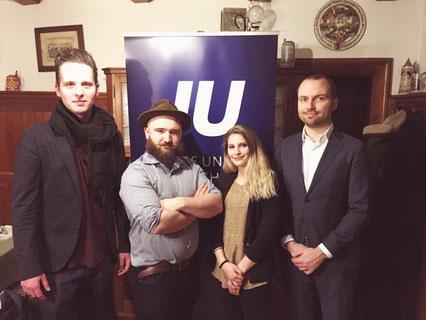Junge Union JU Wolfratshausen Vorstand Matthias Sailer Sepp Schwarzenbach Katrin Patermann Sebastian Strohmenger - Junge Union Bad Tölz - Wolfratshausen