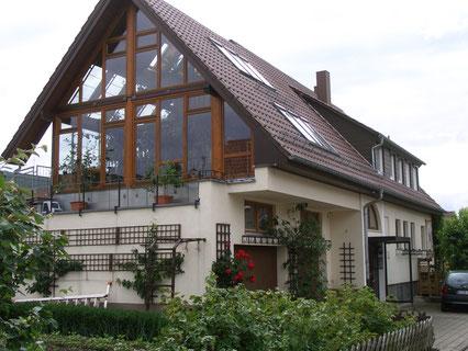 Meine Hausnordseite Bissingen/Teck