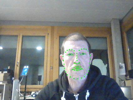 Computer Vision Face Landmark