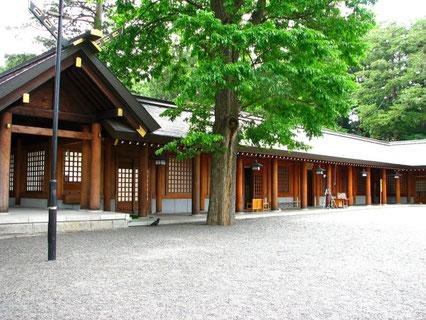 参考画像:北海道神宮