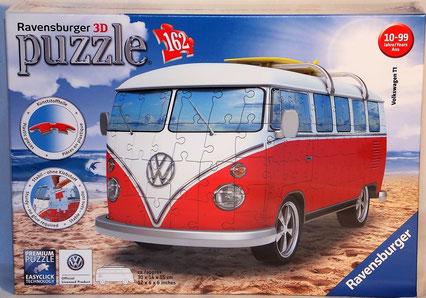 Ravensburger Puzzle, 12516, Volkswagen T1, 3D Puzzle