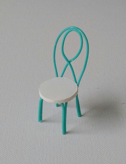 Miniaturstuhl Anleitung