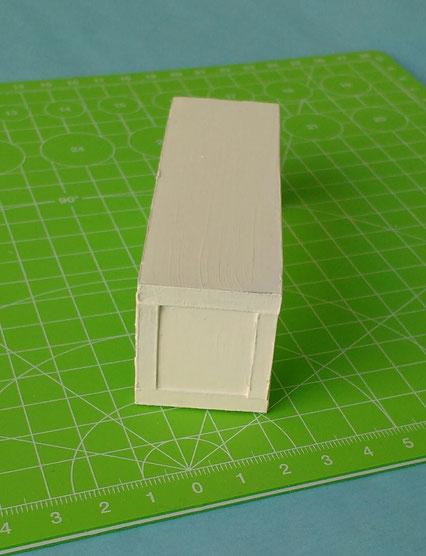 Miniatur-Sitzbank