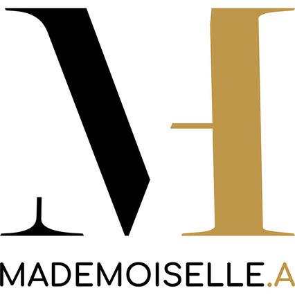 Création du logo du site de mademoiselle A à Lyon