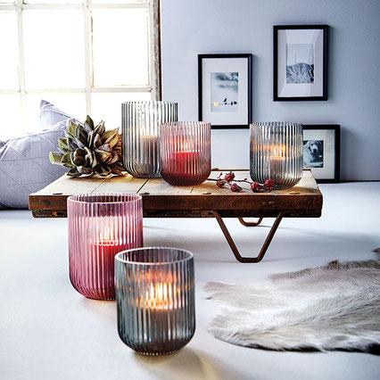 Windlicht Amelie - Kerzenglas von Engels Kerzen