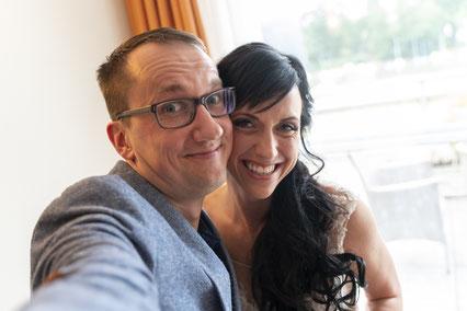 Das obligatorische Braut-Fotografen-Selfie :-)