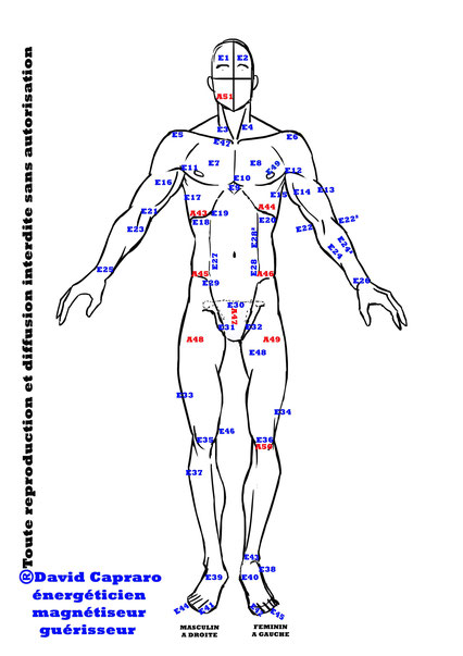 David Capraro Formation au magnétisme, libéré les émotions enfermées dans le corps