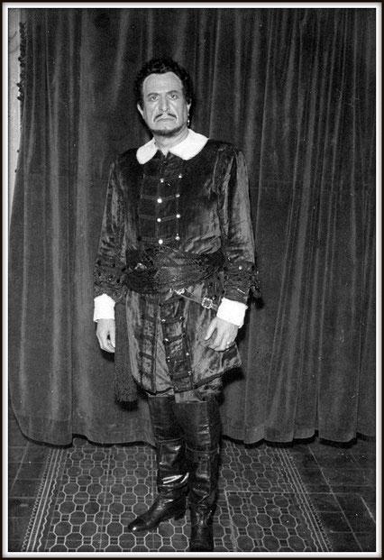 Renato - Un ballo in maschera di G.Verdi - Auditorium Sodre, Montevideo 1961