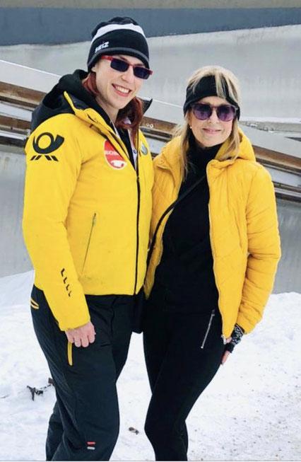 Deutsche Nationalmannschaft Bob, Olympia-Athletin Maria Constantin Bosch und Iris Besemer