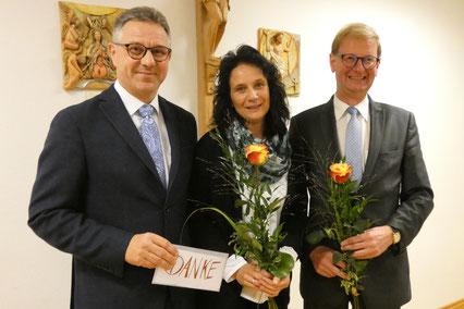 Herr Dietmar Walter, Frau Gisela Neubauer, Herr Martin Balle