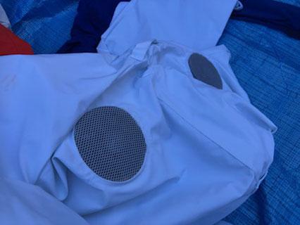 蜂の防護服