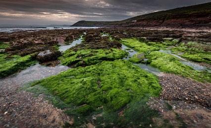 Manorbier Beach, Wales