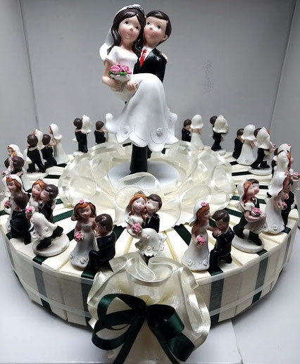 Torta bomboniera cake topper