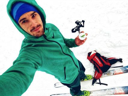 Reibungs minimierung bei der Skitour