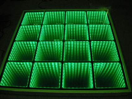 pista iluminada 3D