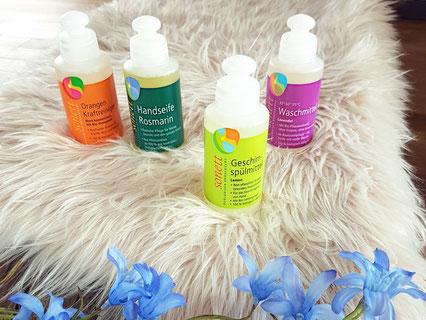 Sonett Waschmittel Test Geschirrspülmittel Kraftreiniger Healthlove Lifestyle Green vegan
