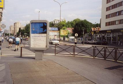 Panneaux Decaux de la Ville de Pantin - Eté 2000