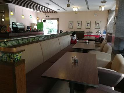 中国 留学 中国語 上海 華東師範大学 シニア留学 夏期講座 学生食堂 河西食堂 河東食堂 丽娃食堂銀之春咖啡厅