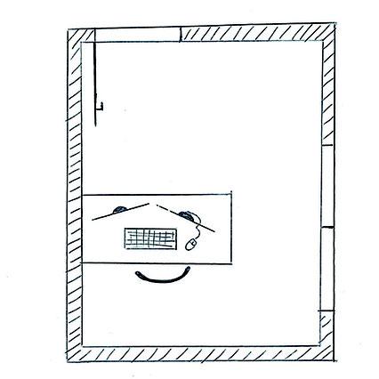 Die richtige Positionierung des Schreibtisches