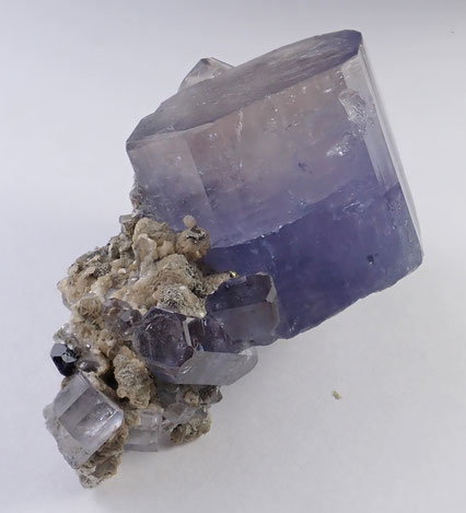 Lilac Panasqueira Fluorapatite