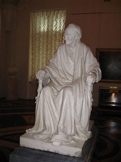 Voltaire assis, Houdon (musée de l'Ermitage)