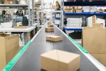Pakete DHL Versand Lager Genthe Gastechnik